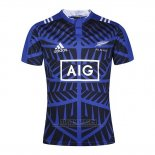 Jersey New Zealand All Blacks Rugby Blue