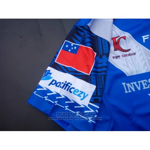 Samoa Rugby Jersey 2017 Home